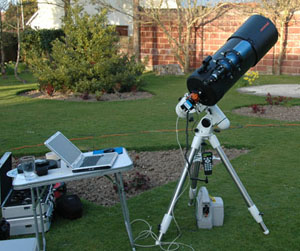 Mark and Leanne's C9.25 telescope